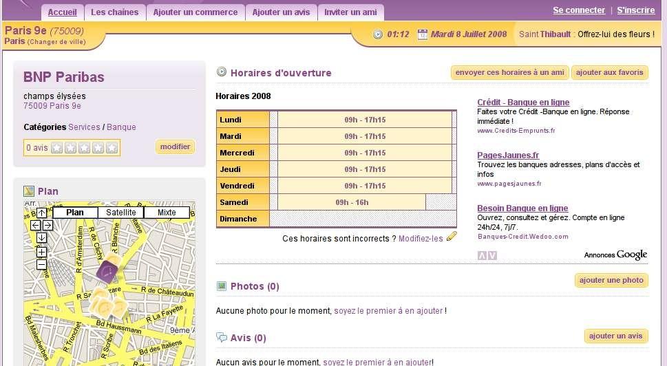 Les-Horaires.fr