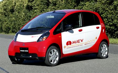 Mitsubishi i MiEV 100% electriques