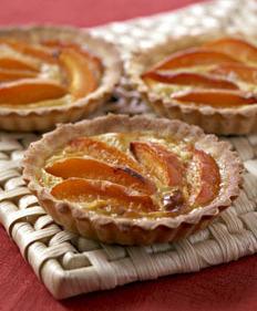 Tarte aux abricots et au miel