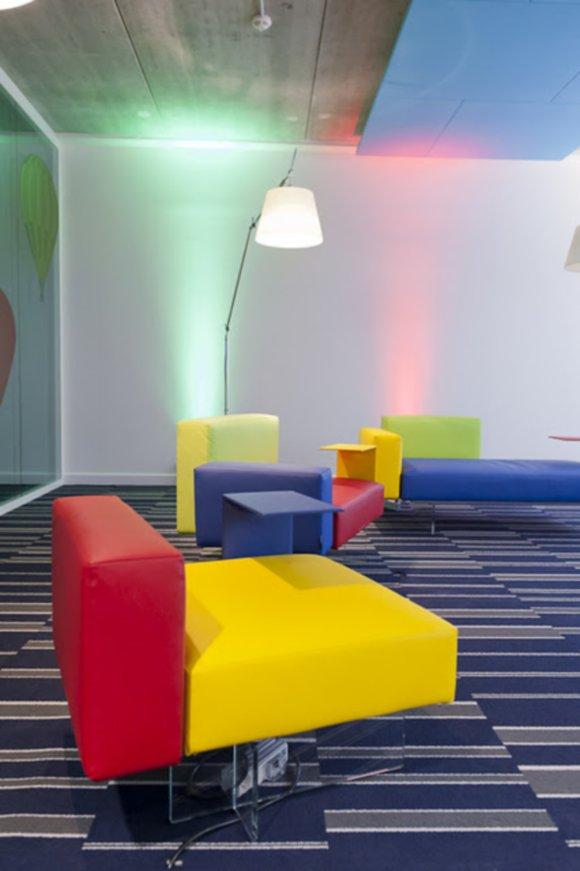 photos des 14 googleplex bureaux de google. Black Bedroom Furniture Sets. Home Design Ideas