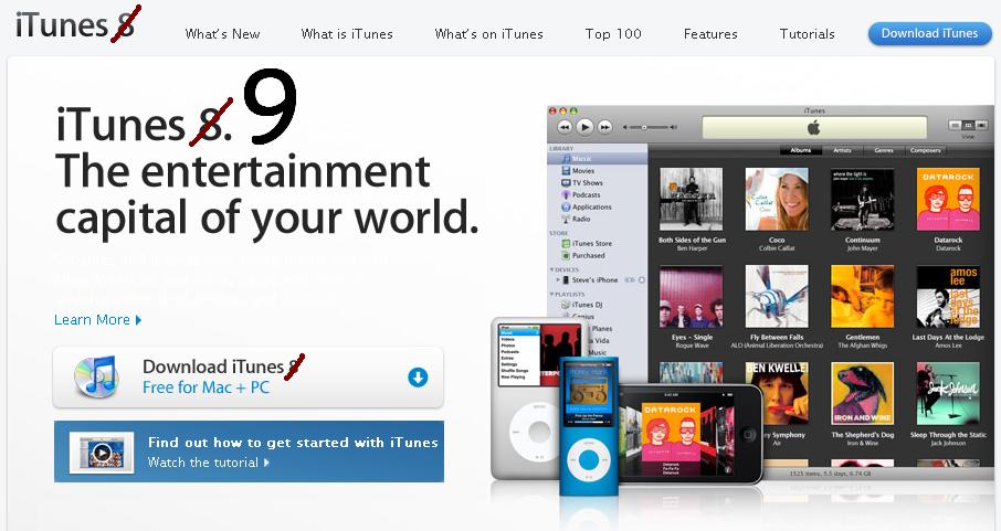 Apple iTunes 9
