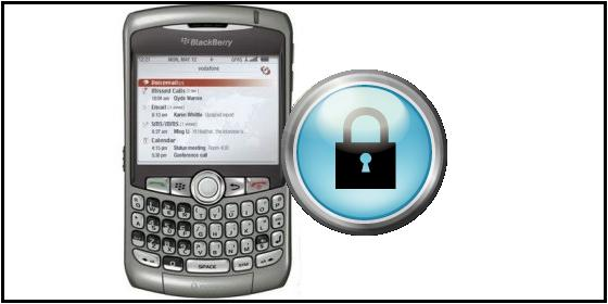 BlackBerry 8310 desactive