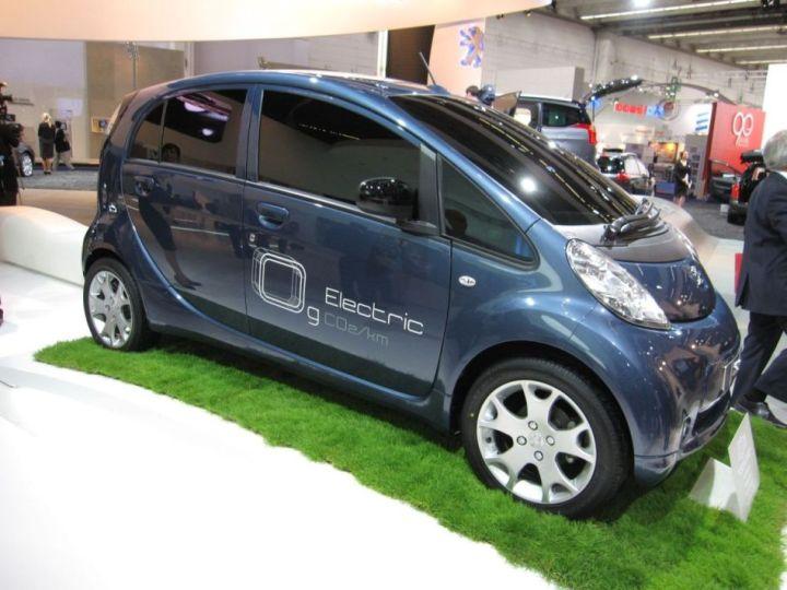 Peugeot iOn Electrique Francfort 1
