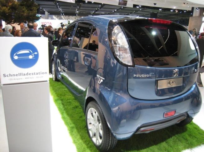 Peugeot iOn Electrique Francfort