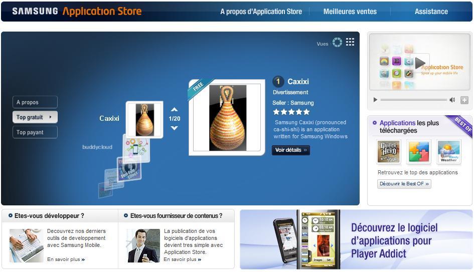 Samsung Application Store
