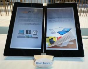 Avec le EEE Reader, Asus se lance dans la course aux eBooks