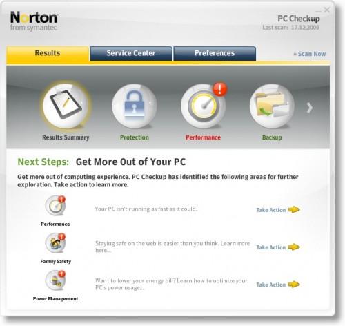 norton_pc_checkup_repports