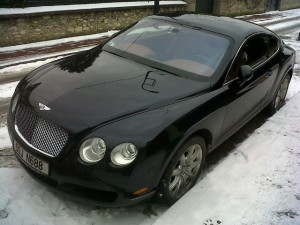 Une Bentley Continental GT à Saint-Maur