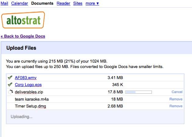GRam Google Docs