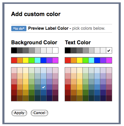 how to change custom colours on google docs