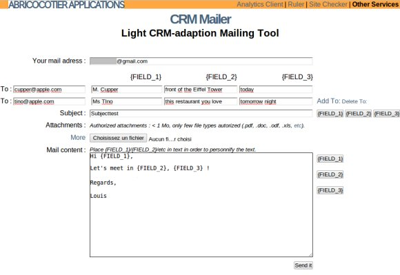 crm mailer  un outil en ligne pour personnaliser vos