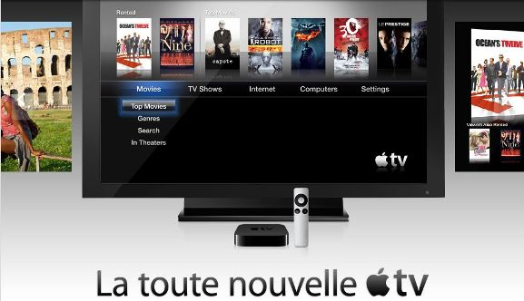 le nouveau mod le conomique d 39 apple une appletv pas ch re mais airplay ipod multiplient le. Black Bedroom Furniture Sets. Home Design Ideas