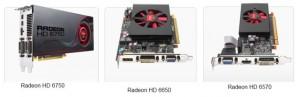 Concours AMD : gagnez 3 cartes graphiques AMD Radeon HD : la 6750, la 6670 et la 6570