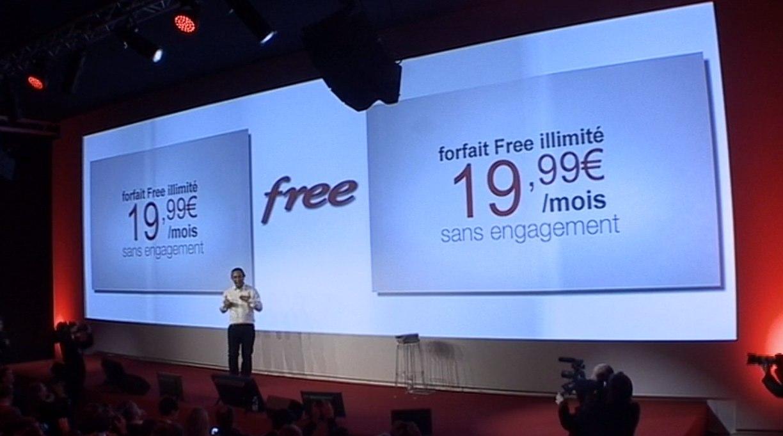 free mobile lance le forfait illimit sans engagement 20. Black Bedroom Furniture Sets. Home Design Ideas