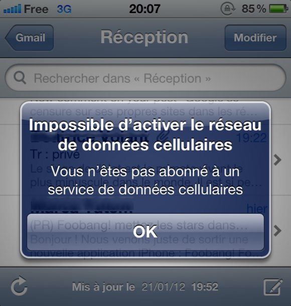 freemobile comment activer les donn es cellulaires sur un iphone. Black Bedroom Furniture Sets. Home Design Ideas