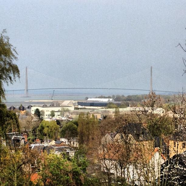 Et le magnifique Pont de Normandie au dessus de Honfleur