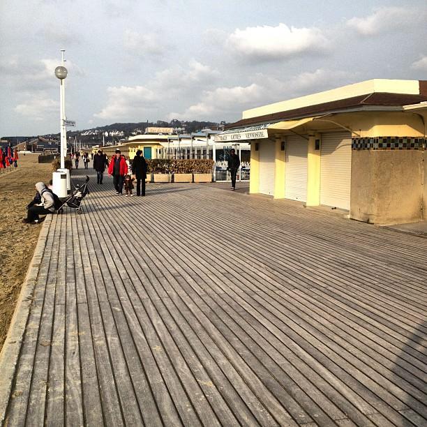 Je suis à Deauville, je pense à @guybirenbaum #leTaulierDeDeauville