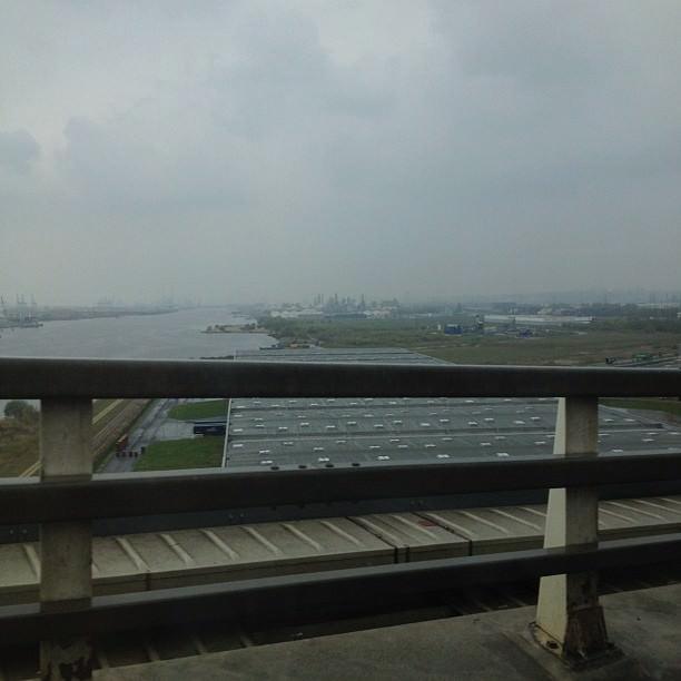 Le Havre, vu du Pont de Normandie