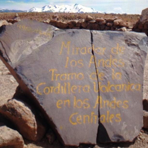 col mirador de los andes altiplano