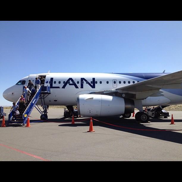 Airbus A319 de la PAN