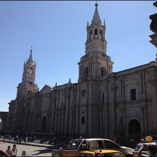 Cathédrale Notre-Dame arequipa