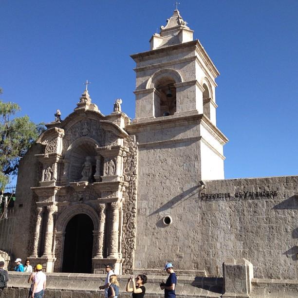 Eglise Saint Jean-Baptiste yanahuara