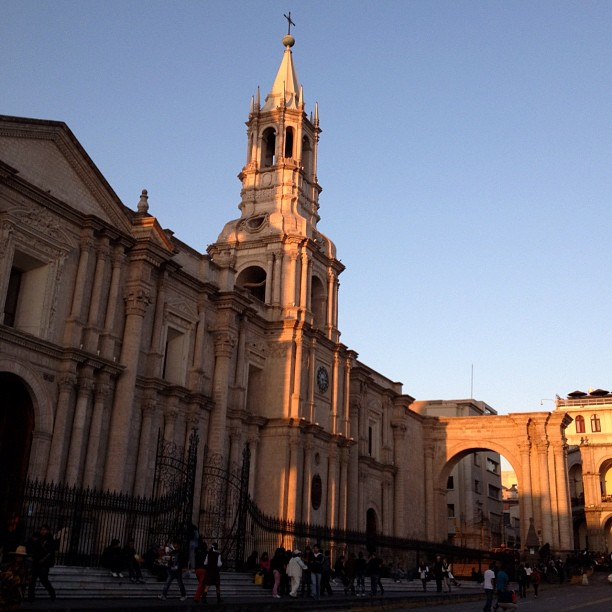 cathedrale notre dame arequipa