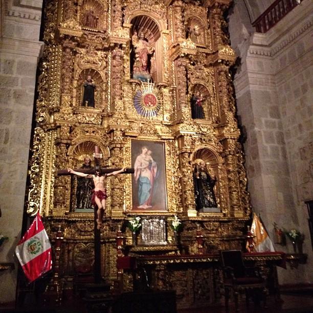 Eglise des Jésuites arequipa