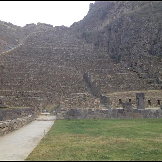 Ollantaytambo Inca Vallee Sacree