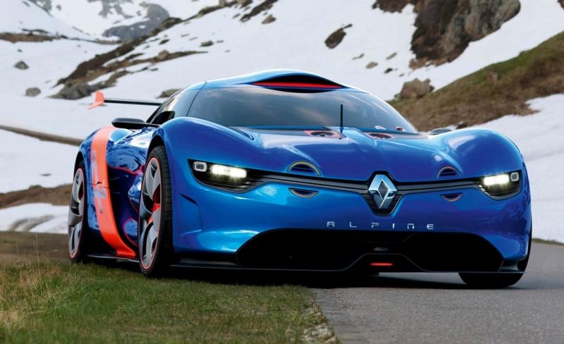 Alpine A110 50 Pilot E Par Jean Ragnotti Un Beau Concept Car