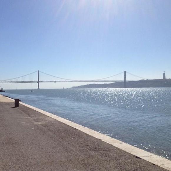 Lisbonne statue du Christ Roi