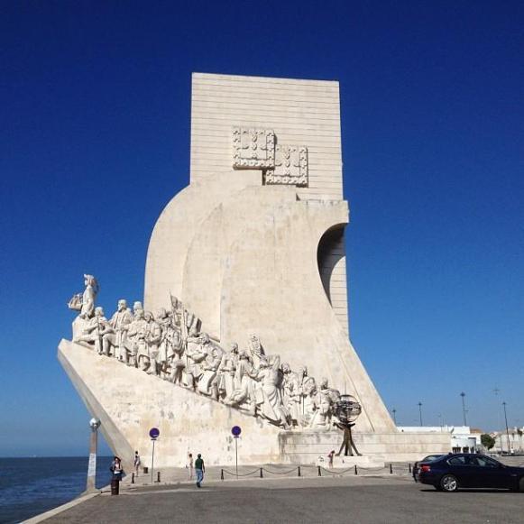 Lisbonne  monument aux Découvertes