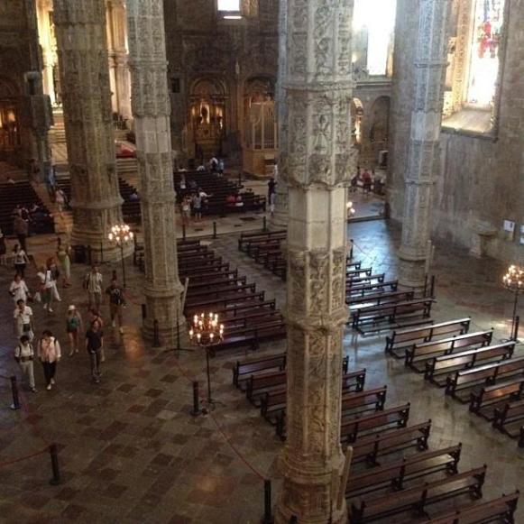 Lisbonne Eglise du Monastère des Jeronimos