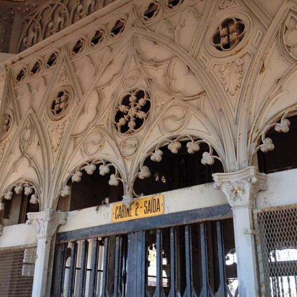 Lisbonne ascenseur Santa-Justa