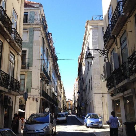Lisbonne quartier de Baixa
