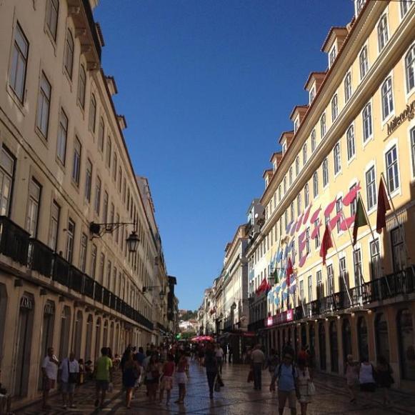 Lisbonne rue Augusta
