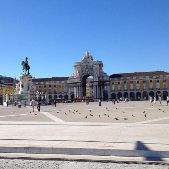 Lisbonne Place du Commerce