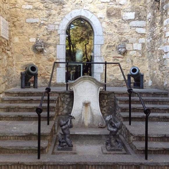 Lisbonne château Saint-Georges