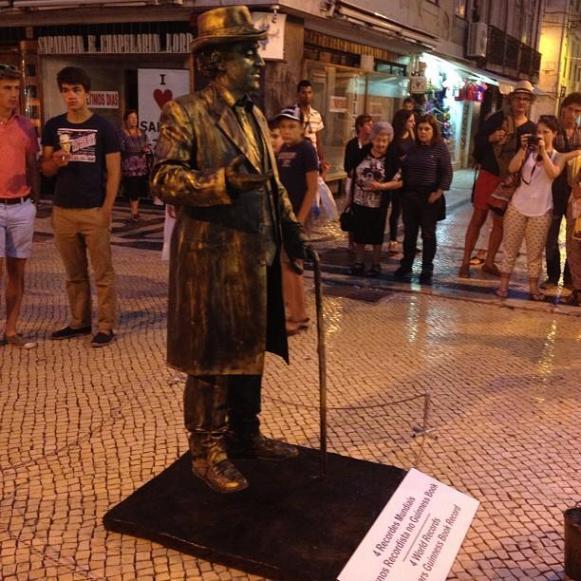 Lisbonne Mime rue Augusta