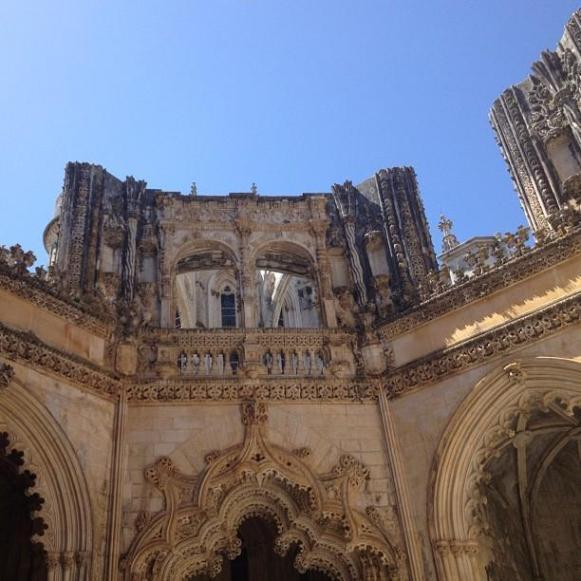 monastère de Batalha piliers