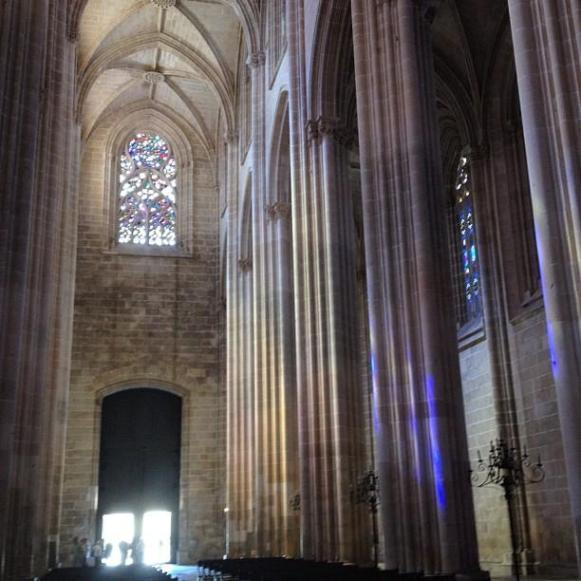 monastère de Batalha nef centrale