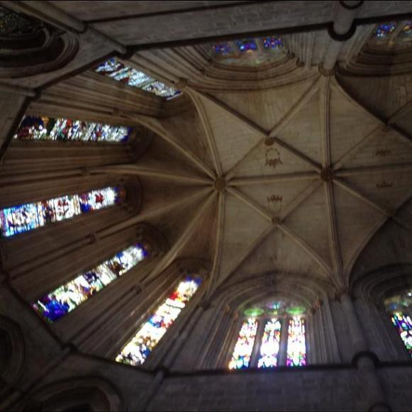 monastère de Batalha vitraux plafond