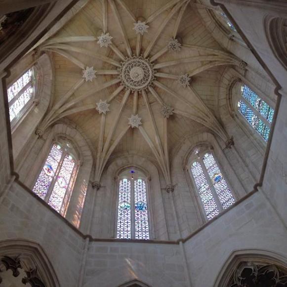 monastère de Batalha vitraux chapelle fondateurs