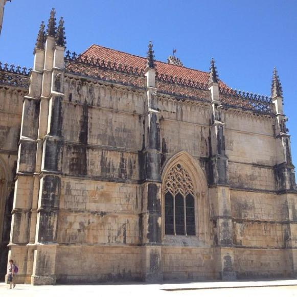 monastère de Batalha - chapelles inachevées