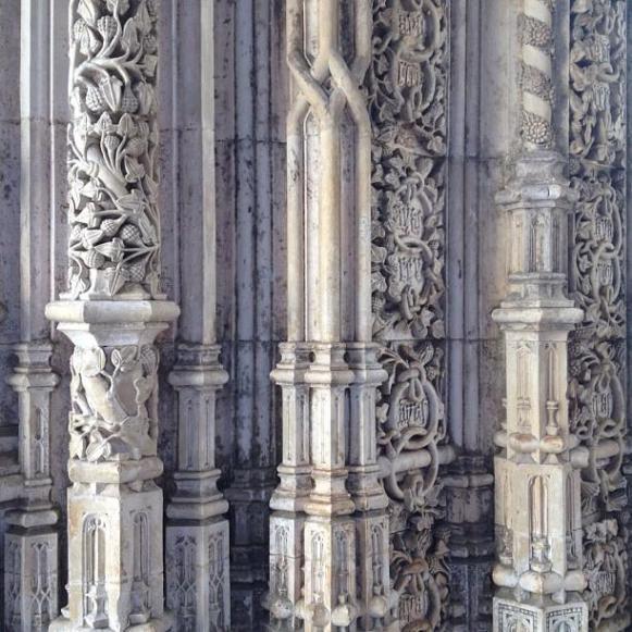 monastère de Batalha scuptures