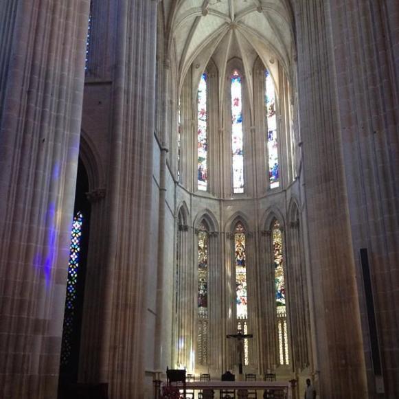monastère de Batalha coeur église