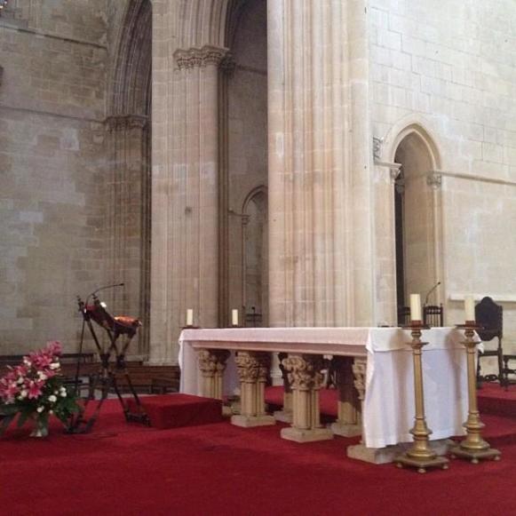 monastère de Batalha autel
