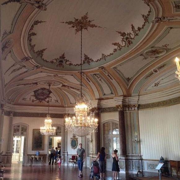 Palais royal de Queluz Salle de Musique