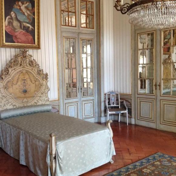 Palais royal de Queluz chambre de Dona Maria