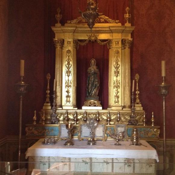Palais royal de Queluz Oratoire Chapelle de Notre Dame de Carmen